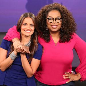 Dr. Shefali Tsabary with Oprah Winfrey